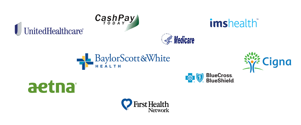 Baylor Scott & White Health logo - We accept MAJOR INSURANCES